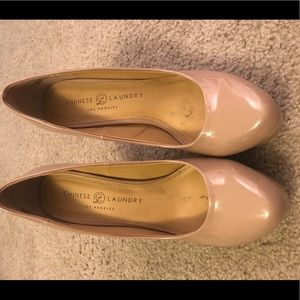 Chinese Laundry Nude Wow Platform Pump